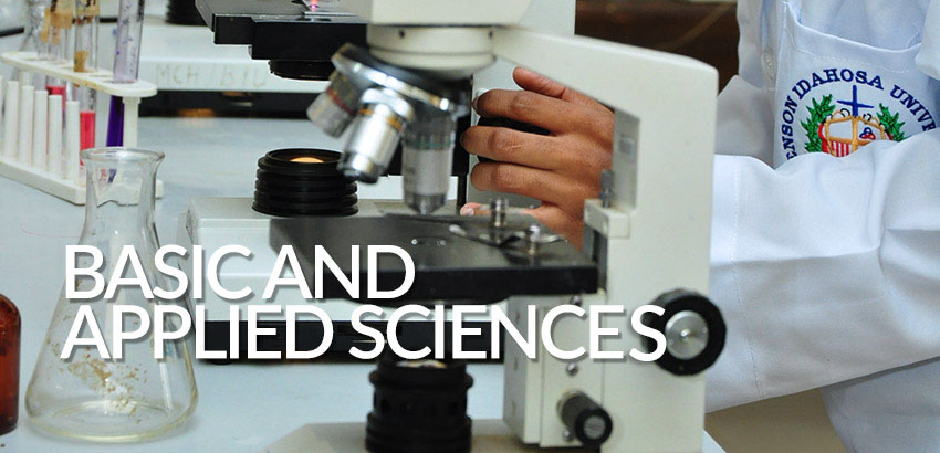 Basic and Applied Sciences