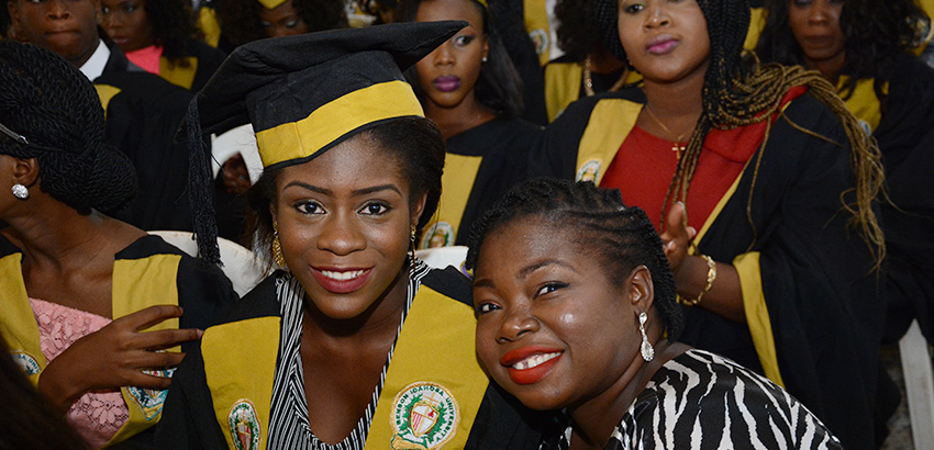 Benson Idahos University 2015 Matriculation Ceremony