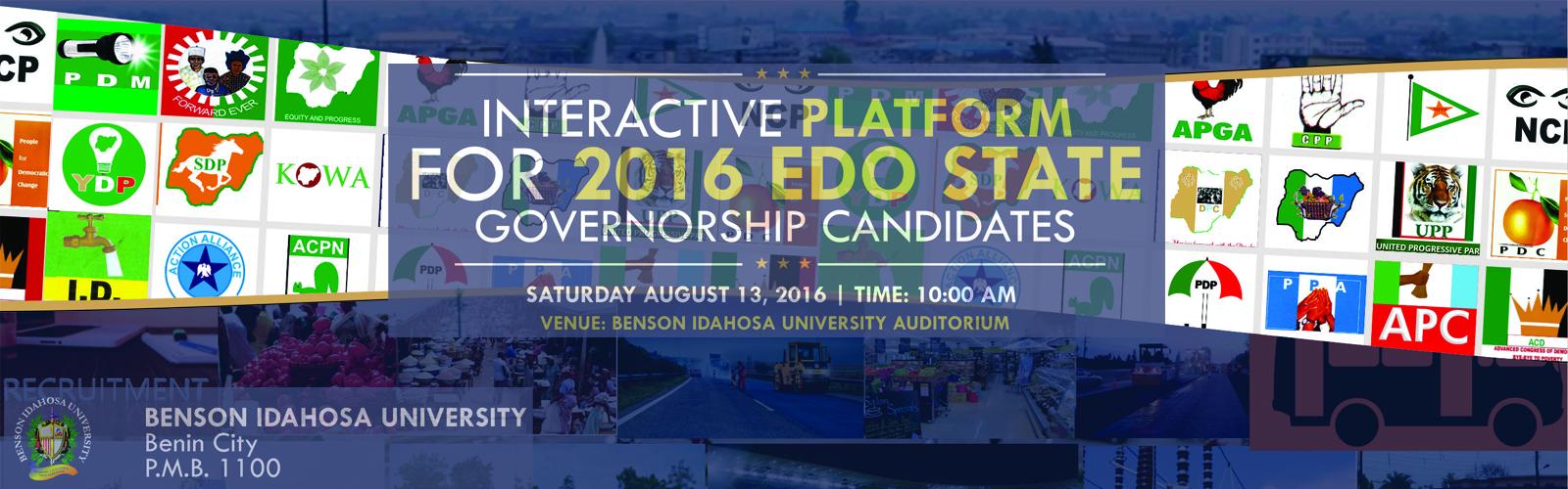 Political Interactive platform