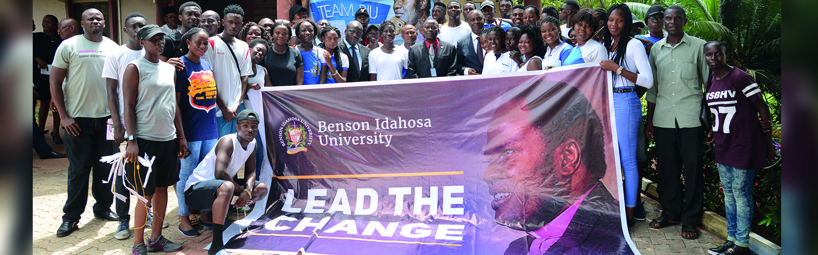 Students-at-Benson-holding-banner-lead-the-change